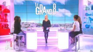 Laurence Ferrari, Hapsatou Sy, Aïda Touihri et Elisabeth Bost dans le Grand 8 - 18/02/16 - 01