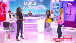 Laurence Ferrari, Hapsatou Sy, Aida Touihri et Elisabeth Bost dans le Grand 8 - 27/05/16 - 15