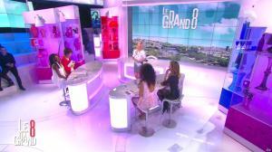 Laurence Ferrari, Hapsatou Sy, Aida Touihri et Elisabeth Bost dans le Grand 8 - 27/05/16 - 20