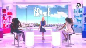 Laurence Ferrari, Hapsatou Sy et Aïda Touihri dans le Grand 8 - 04/09/15 - 01