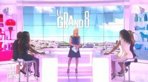 Laurence Ferrari, Hapsatou Sy et Aïda Touihri dans le Grand 8 - 04/09/15 - 03