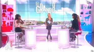 Laurence Ferrari, Hapsatou Sy et Audrey Pulvar dans le Grand 8 - 01/04/15 - 05