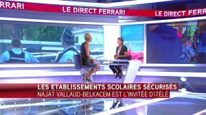 Laurence Ferrari dans le Direct Ferrari - 01/09/16 - 26