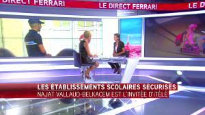 Laurence Ferrari dans le Direct Ferrari - 01/09/16 - 31