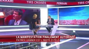 Laurence Ferrari dans Tirs Croisés - 22/06/16 - 02