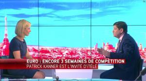 Laurence Ferrari dans Tirs Croisés - 22/06/16 - 06