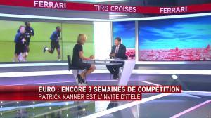 Laurence Ferrari dans Tirs Croises - 22/06/16 - 07