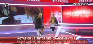 Laurence Ferrari dans Tirs Croisés - 23/09/15 - 04