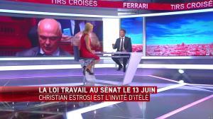 Laurence Ferrari dans Tirs Croisés - 24/05/16 - 11