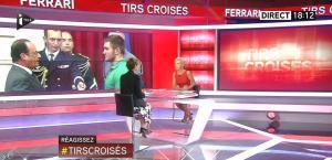 Laurence Ferrari dans Tirs Croisés - 24/08/15 - 01