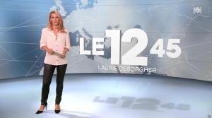 Laurie Desorgher dans le 12-45 - 11/08/16 - 02