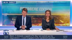 Pascale De La Tour Du Pin dans Première Edition - 14/07/16 - 10
