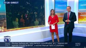 Pascale De La Tour Du Pin dans Premiere Edition - 30/08/16 - 16
