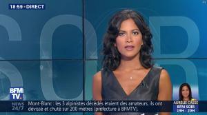 Aurélie Casse dans BFM Soir - 02/08/18 - 01