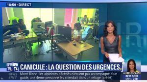 Aurélie Casse dans BFM Soir - 02/08/18 - 02