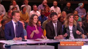 Caroline Ithurbide dans c'est Que de la Télé - 02/02/18 - 02