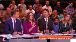 Caroline Ithurbide dans c'est Que de la Télé - 02/02/18 - 03