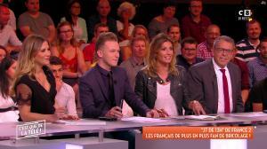 Caroline Ithurbide dans c'est Que de la Télé - 04/06/18 - 03