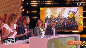 Caroline Ithurbide dans c'est Que de la Télé - 11/09/18 - 03