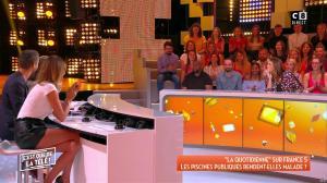 Caroline Ithurbide dans c'est Que de la Télé - 11/09/18 - 05