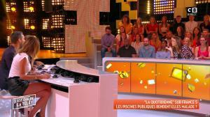 Caroline Ithurbide dans c'est Que de la Télé - 11/09/18 - 06