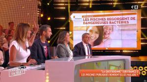 Caroline Ithurbide dans c'est Que de la Télé - 11/09/18 - 07