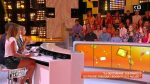 Caroline Ithurbide dans c'est Que de la Télé - 11/09/18 - 08