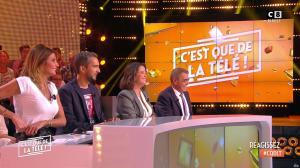 Caroline Ithurbide dans c'est Que de la Télé - 11/09/18 - 09
