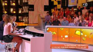 Caroline Ithurbide dans c'est Que de la Télé - 11/09/18 - 10