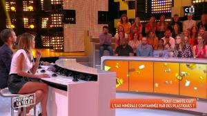 Caroline Ithurbide dans c'est Que de la Télé - 11/09/18 - 12
