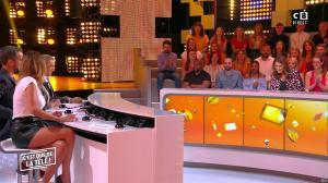 Caroline Ithurbide dans c'est Que de la Télé - 11/09/18 - 16