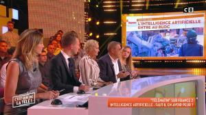 Caroline Ithurbide dans c'est Que de la Télé - 14/09/18 - 04