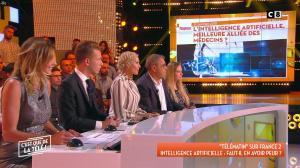 Caroline Ithurbide dans c'est Que de la Télé - 14/09/18 - 08