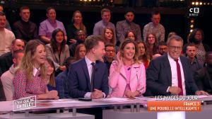 Caroline Ithurbide dans c'est Que de la Télé - 19/03/18 - 02