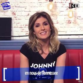 Caroline Ithurbide dans Touche pas à mon Poste - 07/12/17 - 001