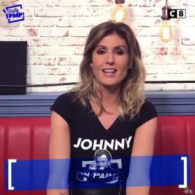 Caroline Ithurbide dans Touche pas à mon Poste - 07/12/17 - 02