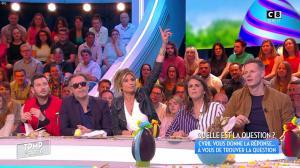 Caroline Ithurbide dans Touche pas à mon Poste - 13/04/17 - 07