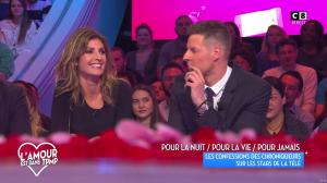 Caroline Ithurbide dans Touche pas à mon Poste - 14/02/17 - 01