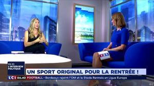 Pascale De La Tour Du Pin dans la Matinale - 31/08/18 - 04