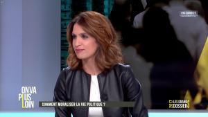 Sonia Mabrouk dans On Va Plus Loin - 15/03/17 - 08