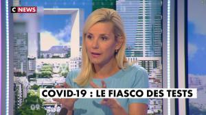 Laurence Ferrari dans l'Interview de Laurence Ferrari - 18/09/20 - 02