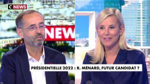 Laurence Ferrari dans l'Interview de Laurence Ferrari - 24/09/20 - 12