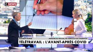 Laurence Ferrari dans l'Interview de Laurence Ferrari - 25/09/20 - 19