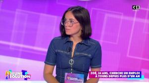 Agathe Auproux dans 1 Jeune 1 Solution - 10/09/21 - 12