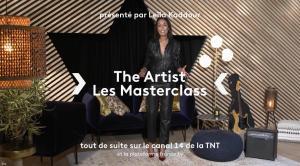 Leïla Kaddour dans The Artist les Masterclass - 13/09/21 - 01