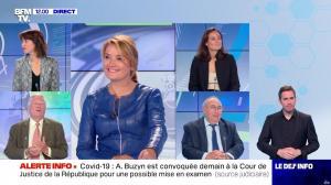Pascale De La Tour Du Pin dans le Dej Info - 09/09/21 - 04