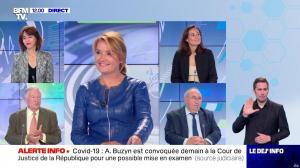 Pascale De La Tour Du Pin dans le Dej Info - 09/09/21 - 05