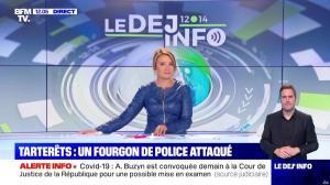Pascale De La Tour Du Pin dans le Dej Info - 09/09/21 - 06