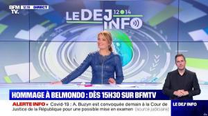 Pascale De La Tour Du Pin dans le Dej Info - 09/09/21 - 07