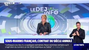 Pascale De La Tour Du Pin dans le Dej Info - 16/09/21 - 06
